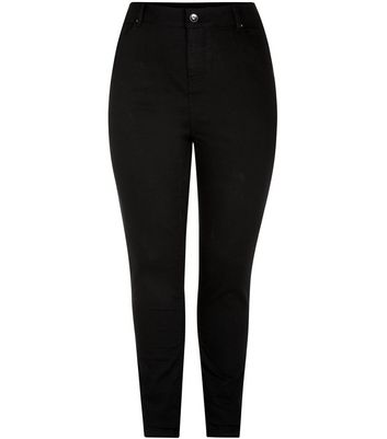 Curves Black 32in Skinny Jeans