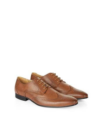 Brown Lace Up Charlie Brogues