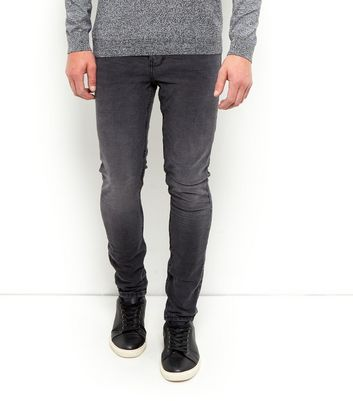 Black Washed Skinny Jeans