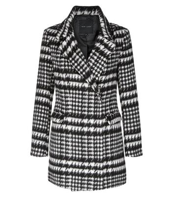 Black Houndstooth Coat