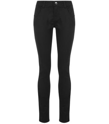 Teens Black Skinny Jeans