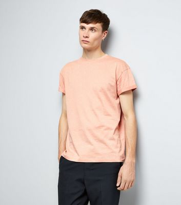 Pink Spray Wash T-Shirt