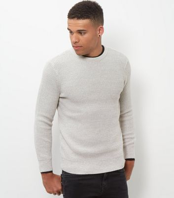Silver Textured Jumper