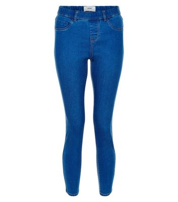 Petite 28in Blue Jeggings