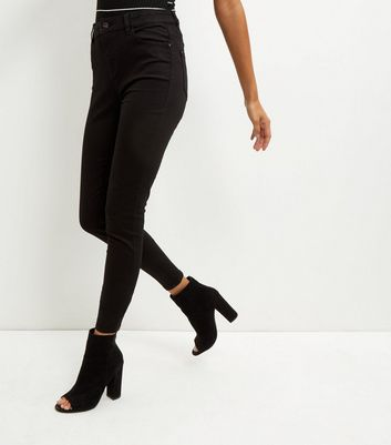 Tall Black Super Skinny India Jeans
