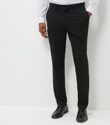 Black Slim Fit Suit Trousers   New Look