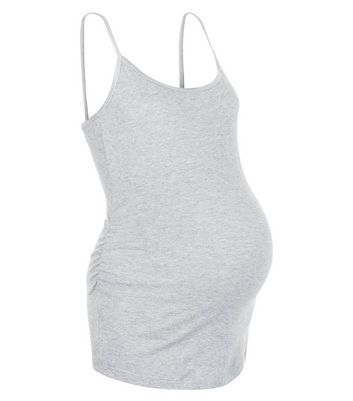 Maternity Grey Strappy Vest