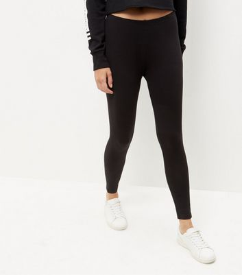 Black Longer Length Leggings