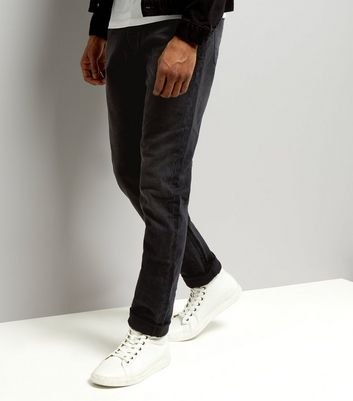 Black Washed Slim Fit Jeans
