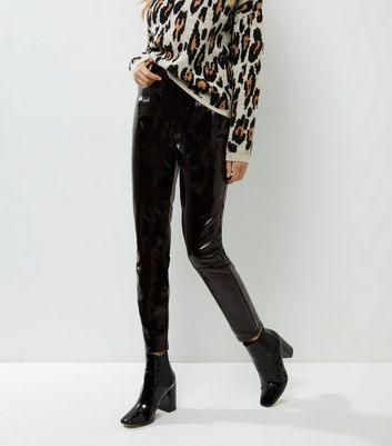New Look | New Look High Shine Patent Trousers