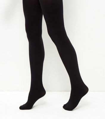 Black Premium 120 Denier Tights