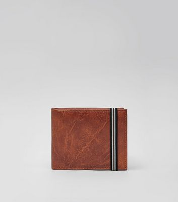 Brown Elasticated Wallet