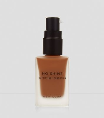 Caramel Brown No Shine Mattifying Foundation