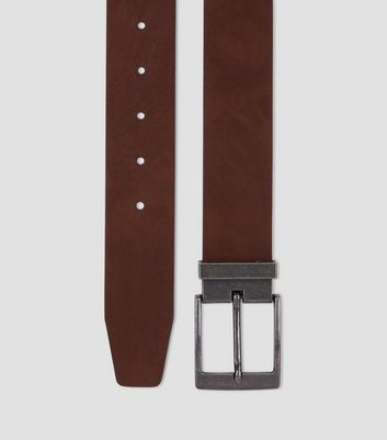 Brown Tapered End Belt