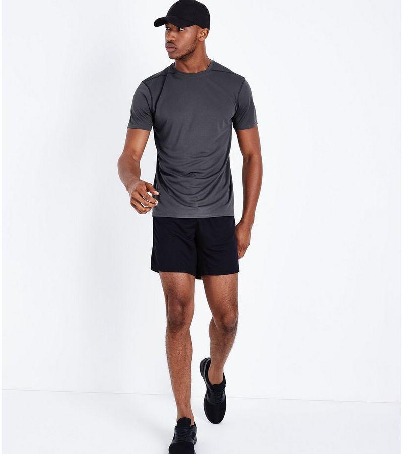 New Look - sport-t-shirt aus netzstoff - 2