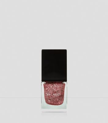 Pink Show Business Glitter Nail Polish