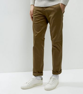 Chinos slim marron