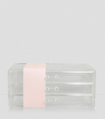 Transparent Cosmetics Organiser Drawers