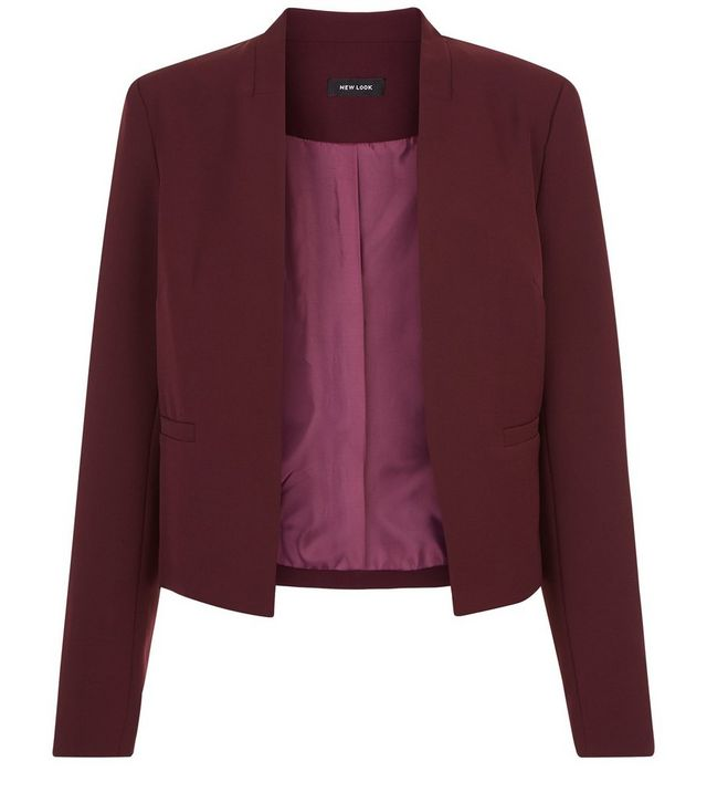 roter blazer new look