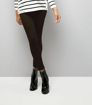 New Look Curve - Leggings mit hoher Taille - Schwarz New Look Plus hAfVPy