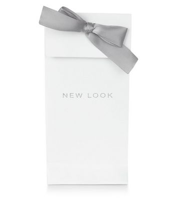 Large White Ribbon Gift Bag