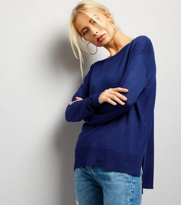 Blue Long Sleeve Jumper