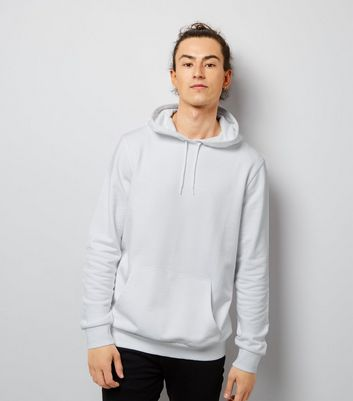 White Pocket Front Hoodie