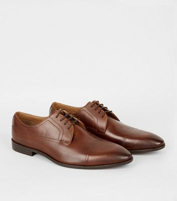 Chaussures Gibson en cuir ocre