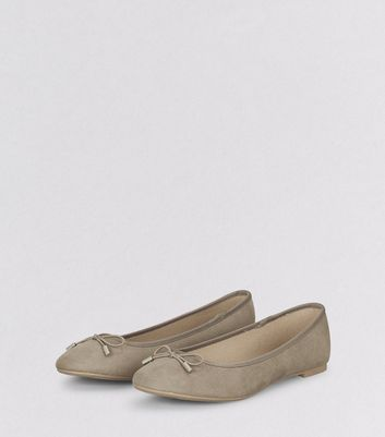 Light Brown Ballet Pumps