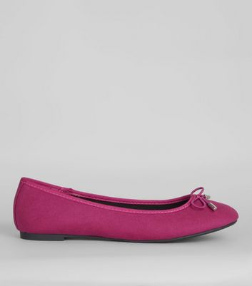 Bright Pink Ballet Pumps