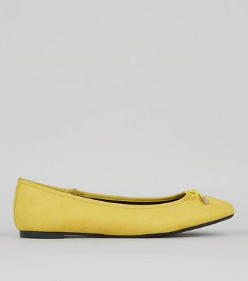 Yellow Ballet Pumps