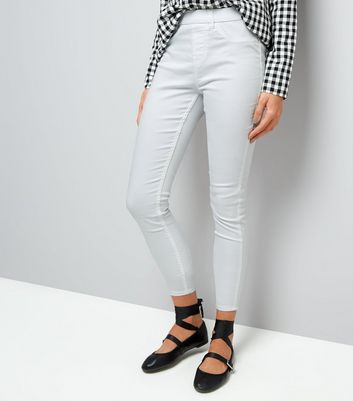 White High Waist Emilee Jeggings