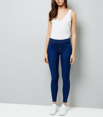 Cheap Fashion Style Emilee Bright Blue Jegging - Blue New Look The Best Store To Get Clearance Ebay Cheap Clearance Discount Cheap Price BpG5oWSURK