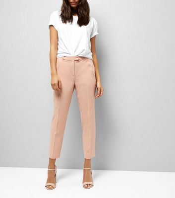 Orange Slim Leg Trousers