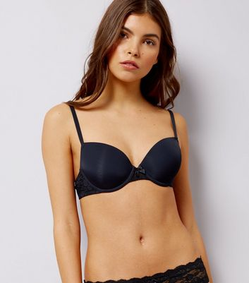 Black Low Cup T-Shirt Bra