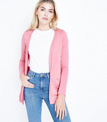 Coral Double Pocket Cardigan