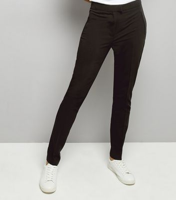 Tall Black Slim Leg Suit Trousers