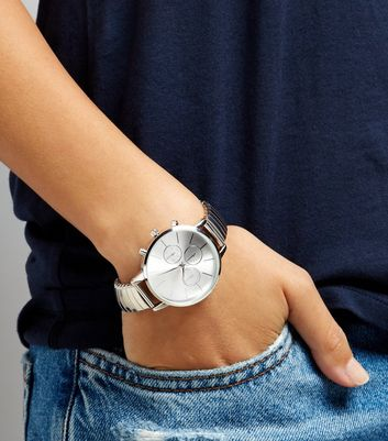 Silver Stretch Watch