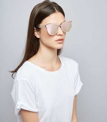 Gold Holographic Sunglasses