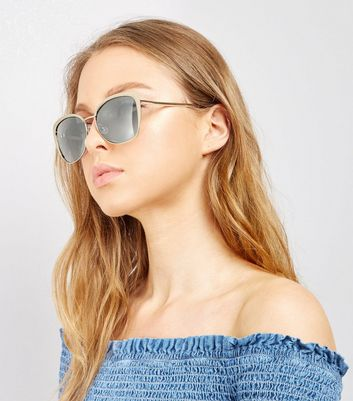 Gold Tortoiseshell Trim Sunglasses