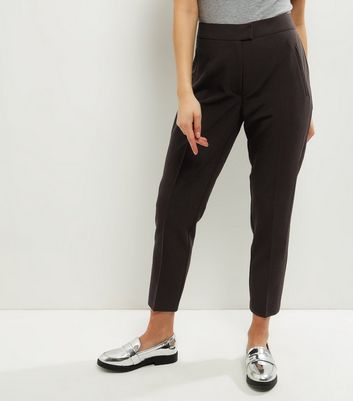 Petite Black Slim Leg Suit Trousers