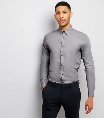 Grey Long Sleeve Shirt