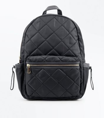 Black Quilted Backpack   New Look : black quilted rucksack - Adamdwight.com
