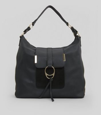 Black Ring Front Tote Bag