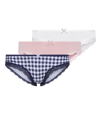 Maternity 3 Pack Assorted Underbump Briefs