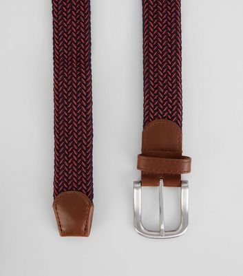 Red Elasticated Belt