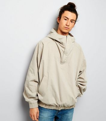 Stone Hooded Pullover Jacket