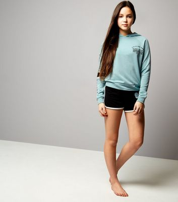 Teens Mint Green Sleep Sqaud Pyjama Set