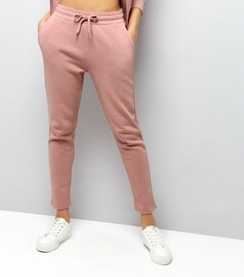 Shell Pink Tapered Joggers