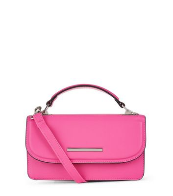 Bright Pink Cross Body Bag